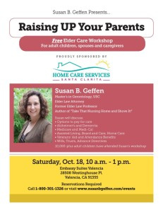 Home-Care-Services-Santa-Clarita-Raising-UP-Your-Parents-Workshop-770x996